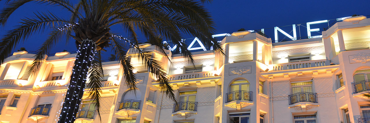 Отель 5* в Каннах Grand Hyatt Cannes Martinez